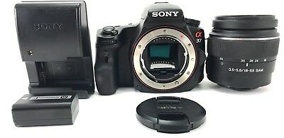 Sony Alpha A37 Camera Body + kit Sony 18-55mm SAM f/3.5-5.6 Lens