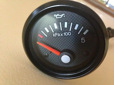 Ford Bf Fpv Gt/gtp/super Pursuit/f6 Oil Pressure Gauge Factory Genuine