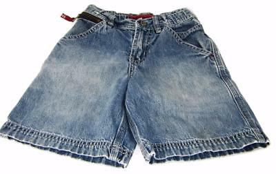 Women/Youth OLD NAVY Jean Denim Shorts Light Blue Fade ThighPocket 2004 Sz 4 CL1