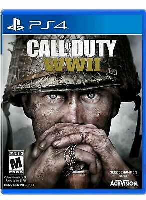 Call of Duty: WWII PS4 (Sony PlayStation 4, 2017) BRAND NEW