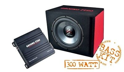 Subwoofer Bass Complete System Ground Zero GZ Bass Kit 12.300