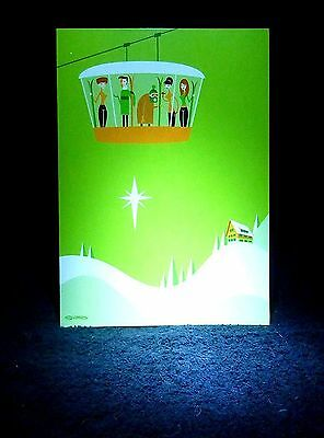 "SHAG Rare 2011 ""WISHING YOU A WINTER SOLSTICE"" Christmas Greeting Note Card -NEW"