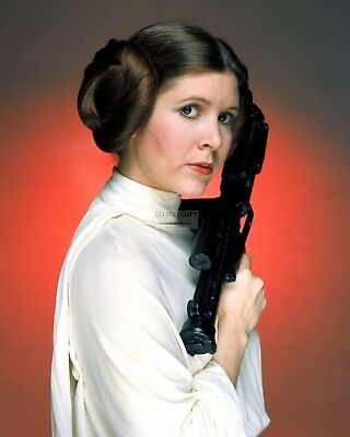 Actress Carrie Fisher Princess Leia Star Wars - 8X10 Publicity Photo (Op-948)