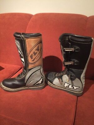 Fly Racing MX 805 Boots Black Size 10