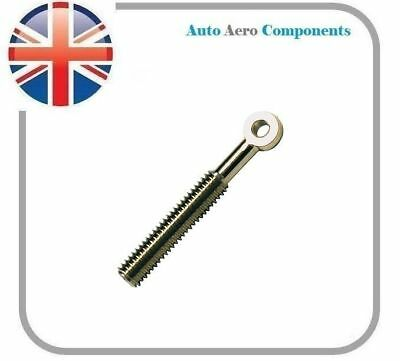 Nickel Plated Brass Eye Bolt M3