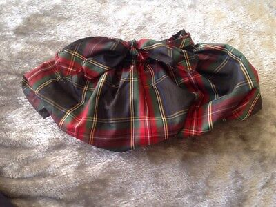 Baby Girls Ralph Lauren Skirt With Knickers Attached 9months Genuine
