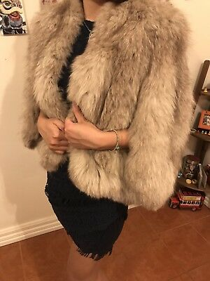 Vintage Fur Coat Luxuriously Soft And Styled