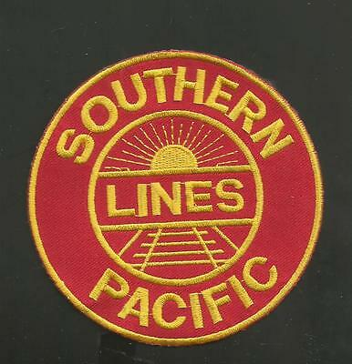 Southern Pacific Lines   Railroad Patch 4  ""