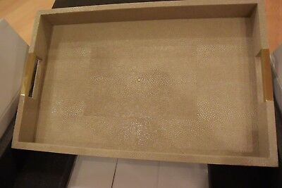 New Aerin Modern Shagreen Desk Tray