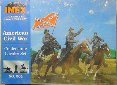 1/72 Confederate Cavalry (American Civil War) IMEX - Nr. 504x - 1:72