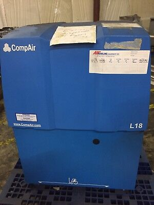 Compair L18 Rotary Screw Air Compressor
