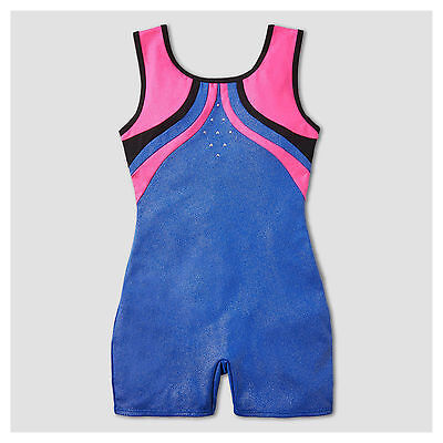 NEW Freestyle by Danskin Girls' Gymnastics Biketards  Size M & L