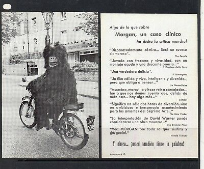 Cine Folleto Publicitario Morgan un Caso Clinico (DM-897)