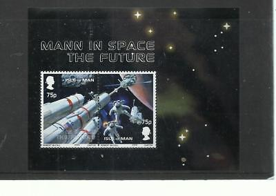 Isle of Man 2003 Mann in Space miniature sheet, MS1055 fine used