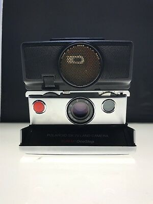 Polaroid SX-70 Sonar One Step Land Camera *** Tested & Works Great ***