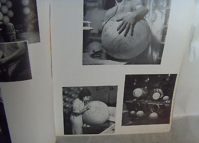 CREATION DES MONDES LA FABRICATION DES GLOBES TERRESTRES 1935 13 photos noirCoul
