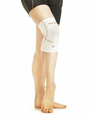 THREE (3) Tommie Copper Women's Performance Triumph Knee Sleeve Size Small/White