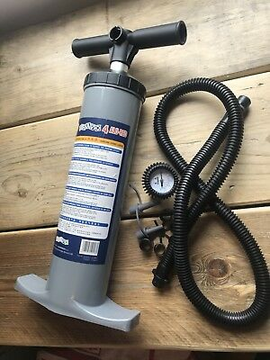 Bravo 4 Air- Reduced Effort Design Hand Pump Air Awning SUP inflatables