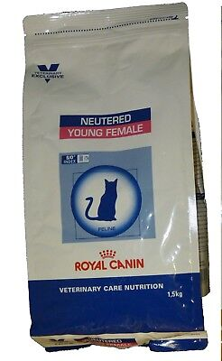 Royal Canin Vet Care Neutered Cat Young Female S/O SW37 chatte - Croquettes 1.5