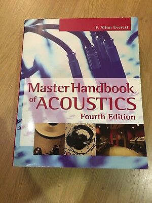 Master Handbook of Acoustics by F.Alton Everest (Paperback, 2000)