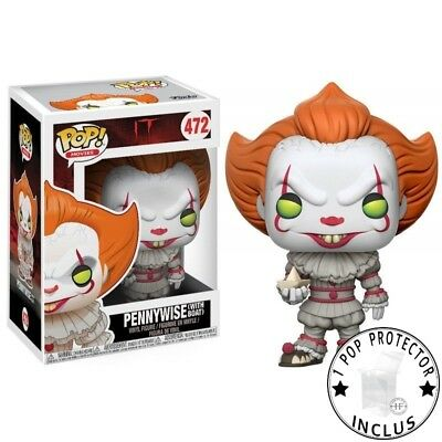 FUNKO POP PENNYWISE WITH BOAT Yellow Eyes