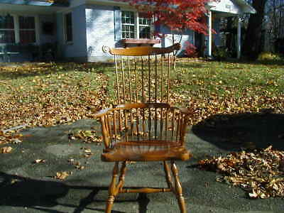 HARDEN comb back Windsor cherry chair (pair available)