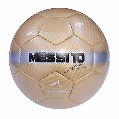 Baden Messi Series Soccer Ball LIONEL MESSI Shiny Gold Design Collectible Gift