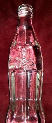 Coke Bottle Crystal 100Th Anniversary  1986    ( Rare )