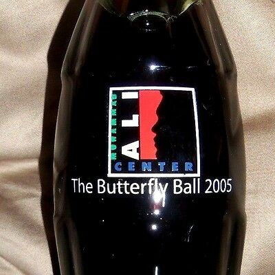 Coke Bottle Muhammad Ali Butter Fly Ball 2005 ( Very Rare ) Never Sold In Stores
