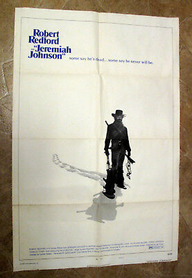 Jeremiah Johnson 1972 27x41 Orig Movie Poster Robert Redford Western! 7 Days!