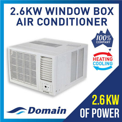 New Domain 2.6Kw Window Wall Box Reverse Cycle Refrigerated Air Conditioner