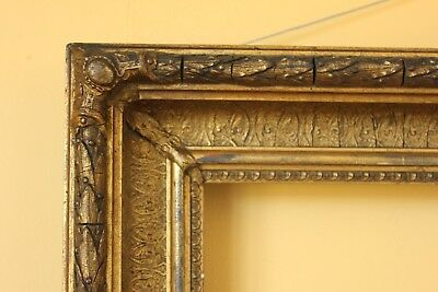 Beautiful very  Large Antique Victorian Gold Frame.