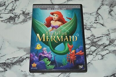 Disney - The Little Mermaid - Diamond Edition (DVD, 2013) (Has No Digital Code)