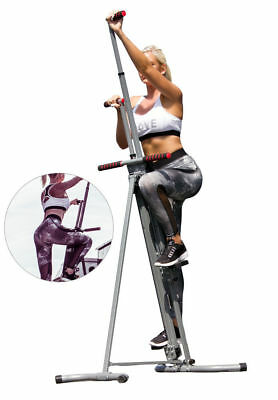 Maxi Climber Vertical Climbing Cardio Exercise Machine Whole Body Trainining