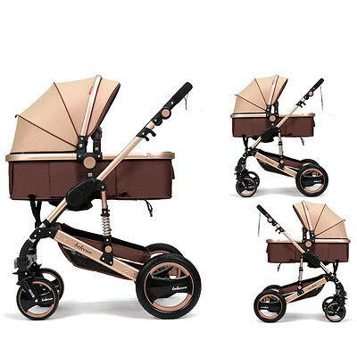 Belecoo Baby Kids Carriage Stroller Buggy Pushchair Trolley Foldable 5 Colors YR