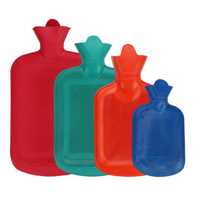 Thick Rubber Hot Water Bag Bottle Health Care Winter Warm Hot Cold Therapies