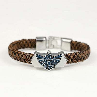 Triforce Metal Bracelet Legend of Zelda Classic Video Game Jewelry Accessories
