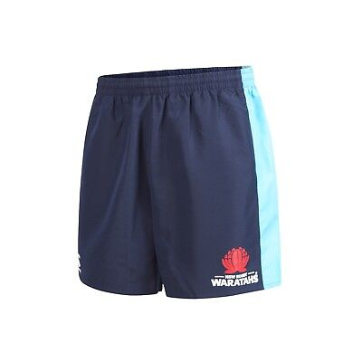NSW Waratahs 2018 Tactic Shorts Sizes S - 4XL Navy New South Wales CCC Super 18