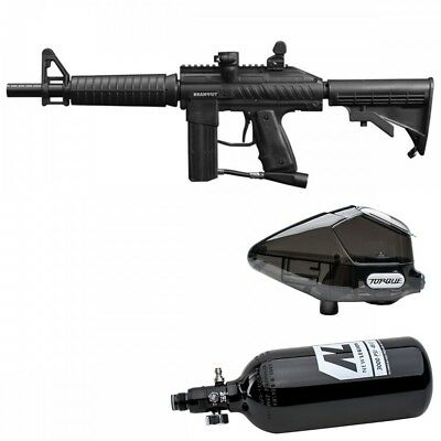 Tippmann Stryker XR1 Paintball Package - black
