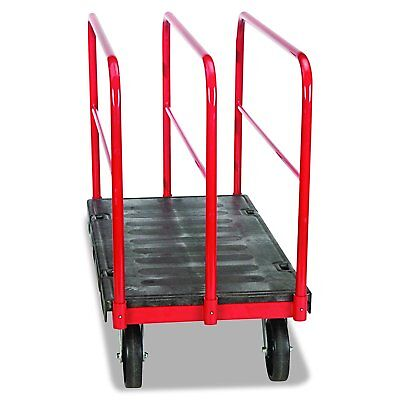 Rubbermaid Commercial FG446800BLA Sheet & Panel Truck, 2000-Pound Capacity