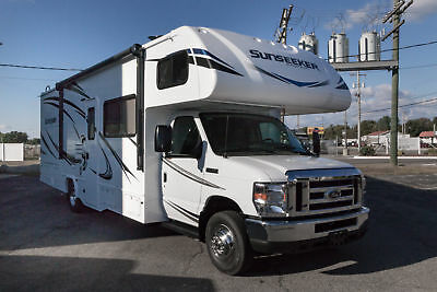 Forest River Sunseeker 2860DS Class C Motorhome Outside Kitchen Ford Forester RV