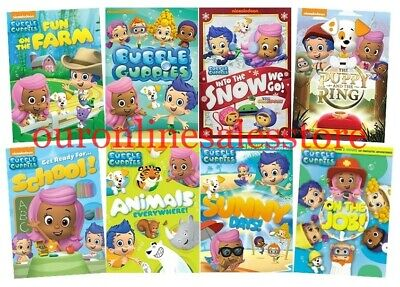 BUBBLE GUPPIES NICK Jr  Series - Lot of 6 Sets DVD Bundle