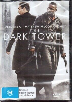 Dark Tower DVD NEW Region 4 Idris Elba Matthew McConaughey