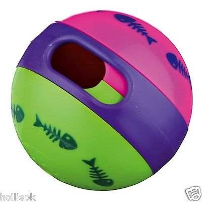 Cat Kitten Treat Exercise Toy Ball Fill With Treats For Hours Of Fun