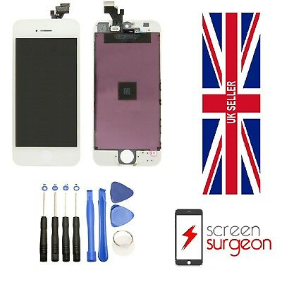 OEM iPhone 5 LCD Touch Screen Digitizer Display Replacement Assembly Black White