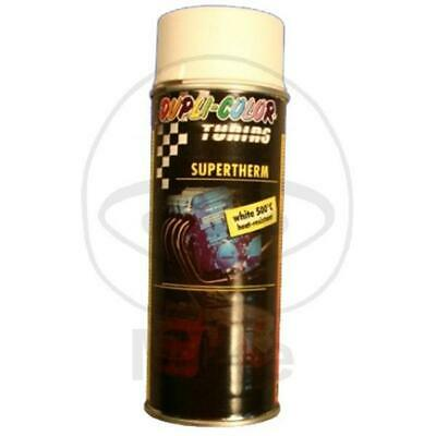 DUPLI-COLOR Motorschutzlack - spray weiß 400 ml Supertherm 500°C matt 191756