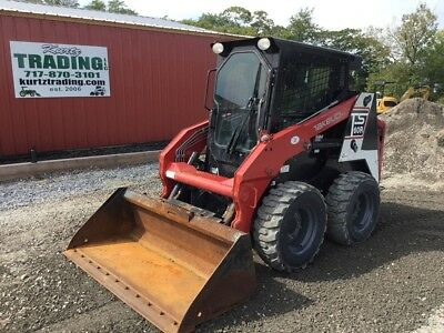 2014 Takeuchi TS60R Skid Steer Loader w/Cab, 2 Speed, and Heat & A/C!