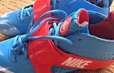 Nike Huarache Lacrosse Shoes Cleat Bluechip Men's 11.5 NWOB //RARE//