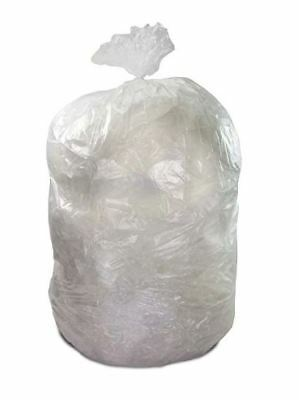 TheSafetyHouse Heavy Duty Clear 42 Gallon Trash Bags 100 / Roll Extreme Strength