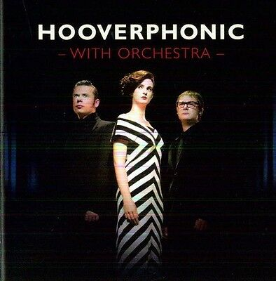 With Orchestra - Hooverphonic (2012, CD NUOVO)